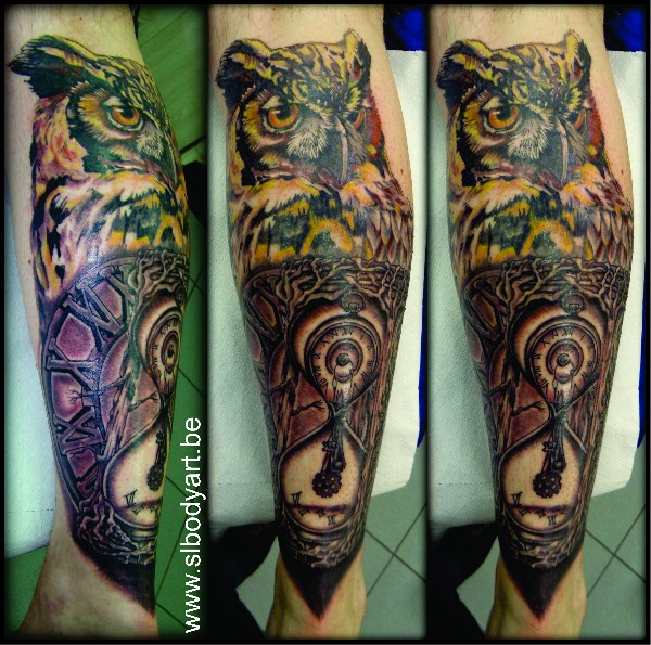 Tigre, tatouage by Sophie d'SL BODY ART