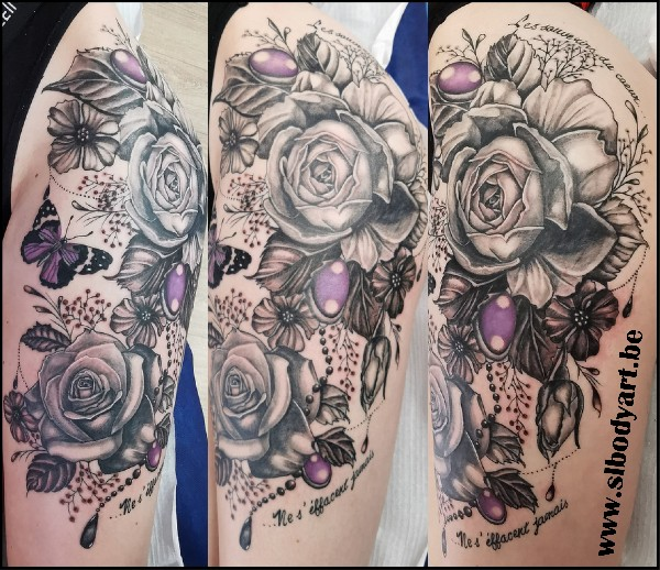 Tattoo Lion by SL BODY ART